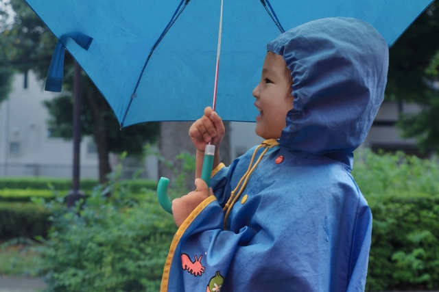 雨の日の散歩の楽しみ方