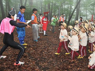 年長さんは那須塩原に2泊3日の林間保育を行います!施設は当園所有♪