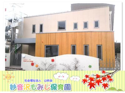 妙音沢もみじ保育園:埼玉県新座市馬場*体験で学ぶ保育